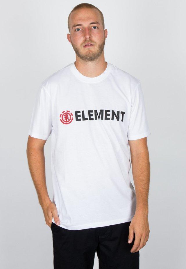 BLAZIN - Print T-shirt - optic white