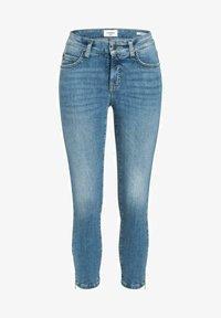 Cambio - PARIS ZIP - Slim fit jeans - summer mid used - 0