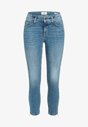 PARIS ZIP - Slim fit jeans - summer mid used