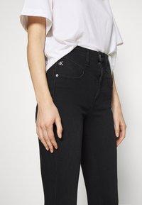 Calvin Klein Jeans - HIGH RISE SUPER SKINNY ANKLE - Jeans Skinny - washed black yoke - 3