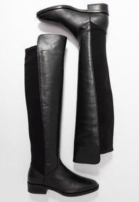 Clarks - PURE CADDY - Kozačky nad kolena - black - 3