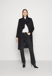 Bruuns Bazaar - JASMINA PERLE COAT - Klasický kabát - black - 1