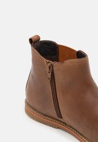 Friboo - LEATHER - Kotníkové boty - dark brown - 5
