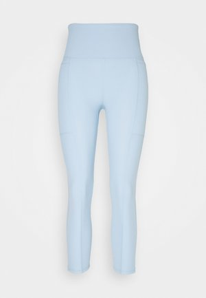 POCKET 7/8 - Tights - baby blue