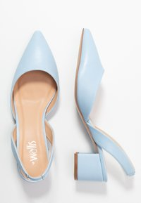 Wallis - CUSTARD - Escarpins - light blue - 3
