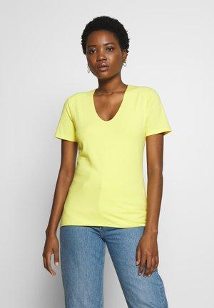 SLEEVE - T-shirt basic - light lemon