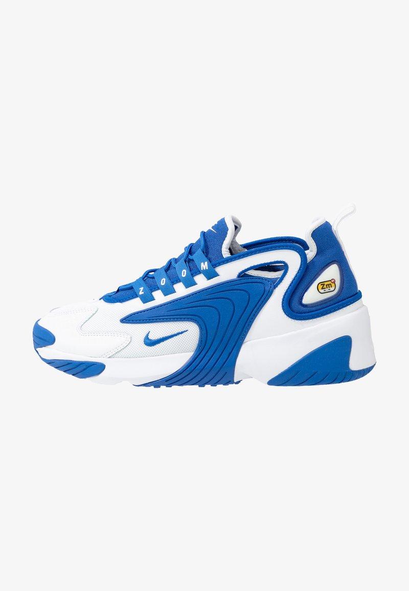 Nike Sportswear - ZOOM  - Sneakers - white/game royal