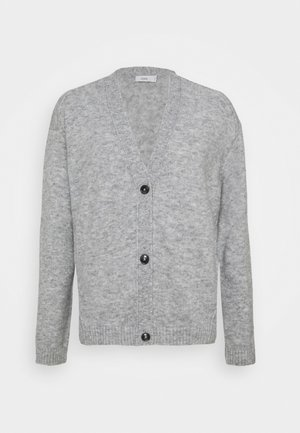Strikjakke /Cardigans - light grey melange