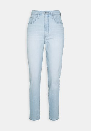 HIGH WAISTED TAPER - Relaxed fit jeans - light-blue denim
