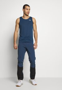 The North Face - MEN'S DIABLO II PANT - Outdoorové kalhoty - blue wing teal/black - 1