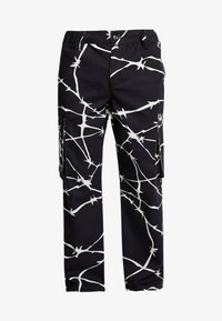 Jaded London - WIRE PRINT TROUSERS - Cargobroek - black - 3
