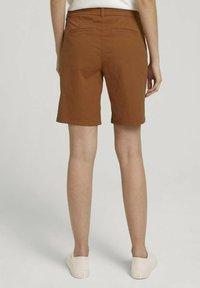TOM TAILOR - Shorts - caramel brown - 2