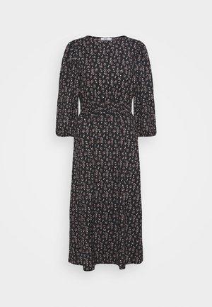 ONLZILLE NAYA SMOCK DRESS - Day dress - black/lavender