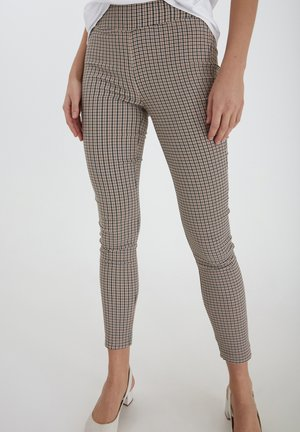 Leggings - Trousers - beige