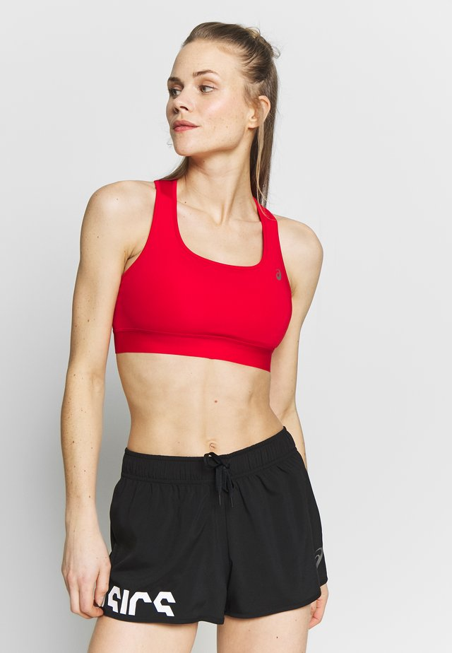 BRA - Medium support sports bra - classic red
