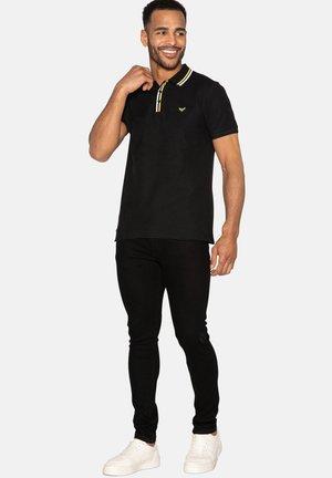 WARD - Polo shirt - black rib