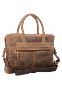 Greenburry - VINTAGE - Briefcase - nut brown - 1