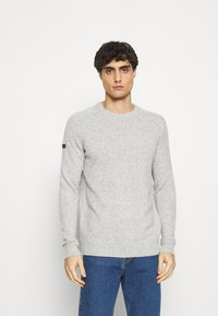 Superdry - HARLO  - Pullover - oil grey twist - 0