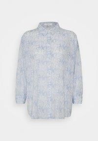 Opus - FILMA GARDEN - Button-down blouse - silent blue - 0