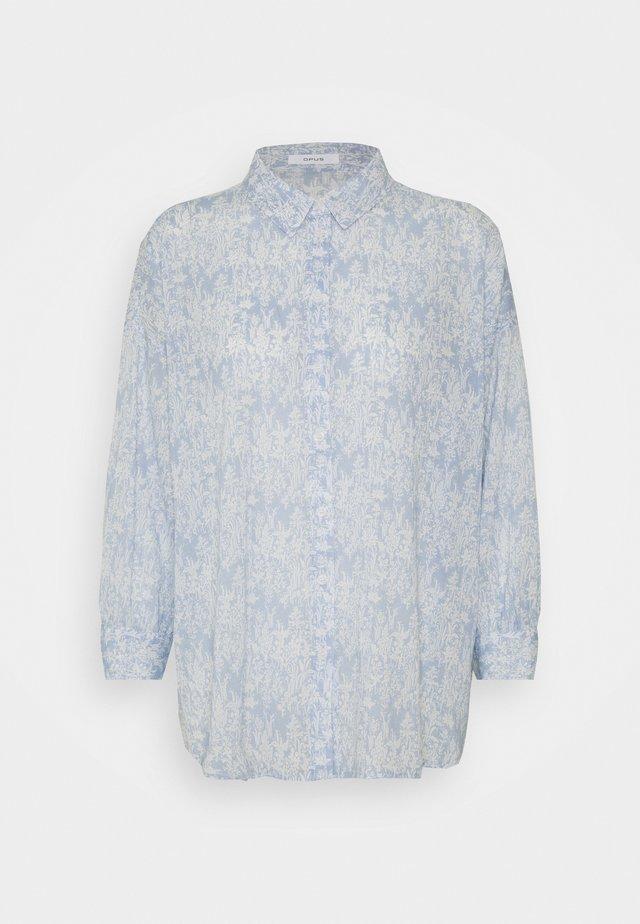 FILMA GARDEN - Skjorte - silent blue