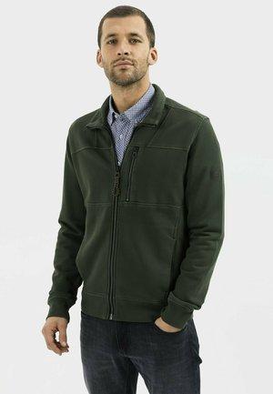 Zip-up hoodie - leaf green