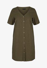 Zizzi - Shirt dress - ivy green - 3