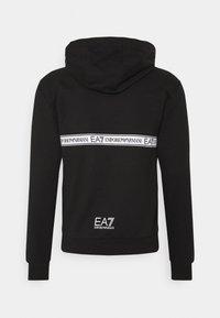 EA7 Emporio Armani - Kapuzenpullover - anthracite/white - 1