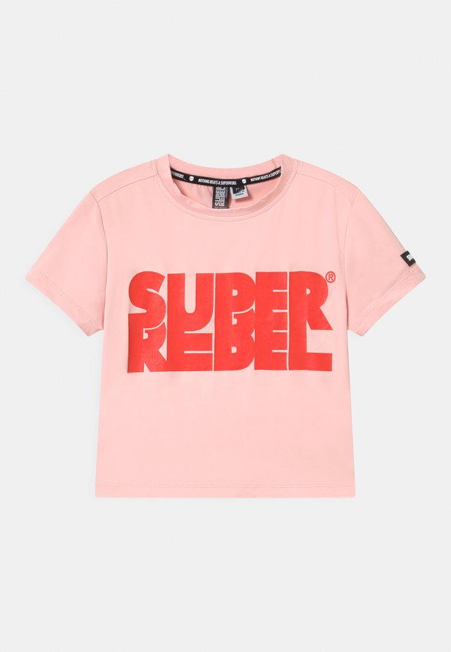 SHORT - T-shirts med print - light pink