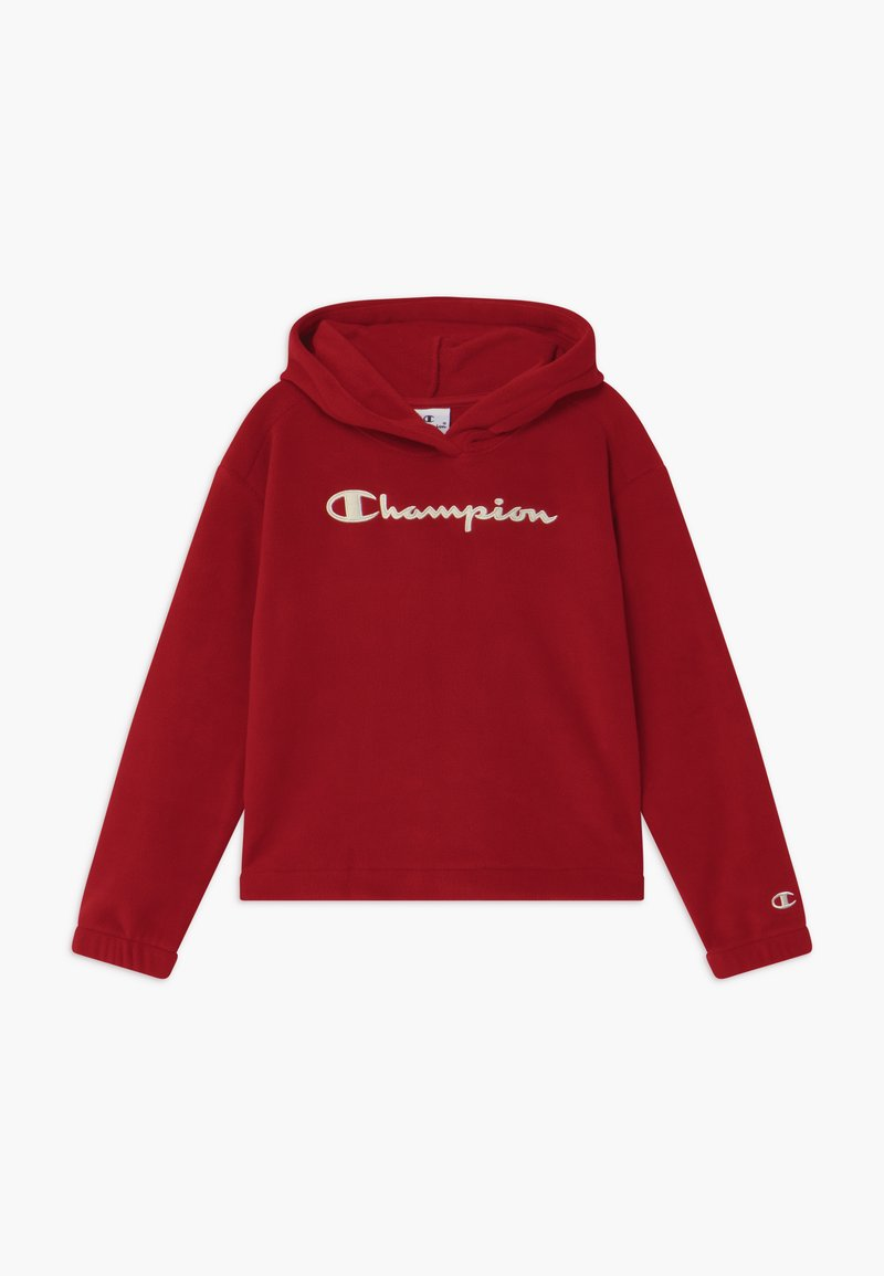 Champion - LEGACY AMERICAN CLASSICS HOODED - Sweat à capuche - dark red