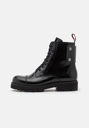 MORISSON - Lace-up ankle boots - noir