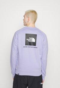 The North Face - RAGLAN REDBOX CREW NEW  - Sweatshirt - sweet lavender - 3