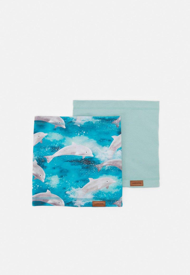 Walkiddy - DOLPHIN LOOP 2 PACK - Kruhová šála - light blue