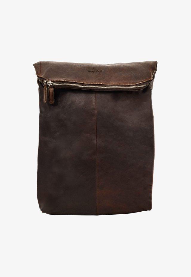 Rucksack - dark brown