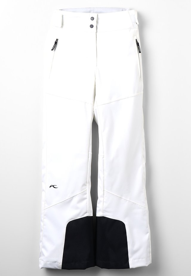 GIRLS CARPA PANTS - Snow pants - white