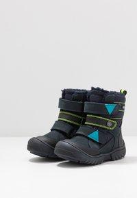 Primigi - GTX - Zimní obuv - blu scuro/nero - 3