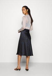 Soaked in Luxury - SLEDESSA SKIRT - A-line skirt - shadow/dark blue - 2