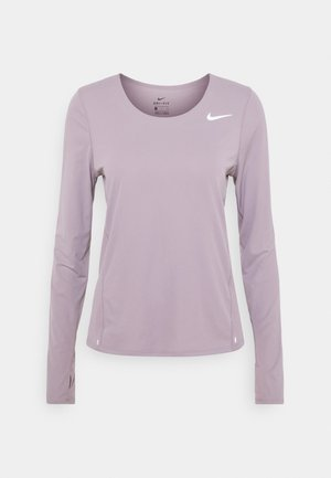 CITY SLEEK - Sports shirt - purple smoke/silver