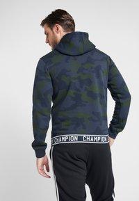 Champion - HOODED  - Hættetrøjer - olive - 2