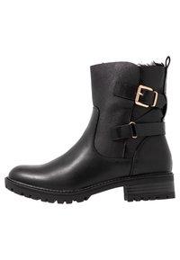 Dorothy Perkins - ALOHA BACK BUCKLE - Classic ankle boots - black - 0
