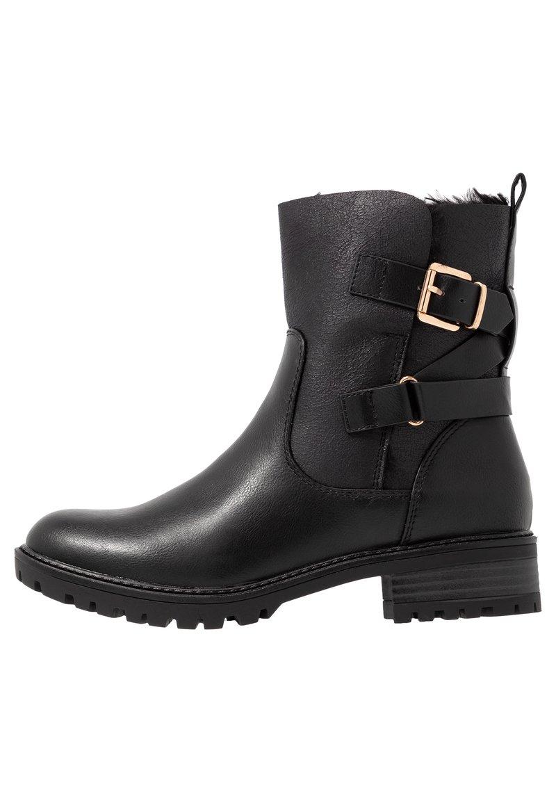 Dorothy Perkins - ALOHA BACK BUCKLE - Classic ankle boots - black