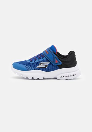 RAZOR FLEX - Trainers - royal/black/red