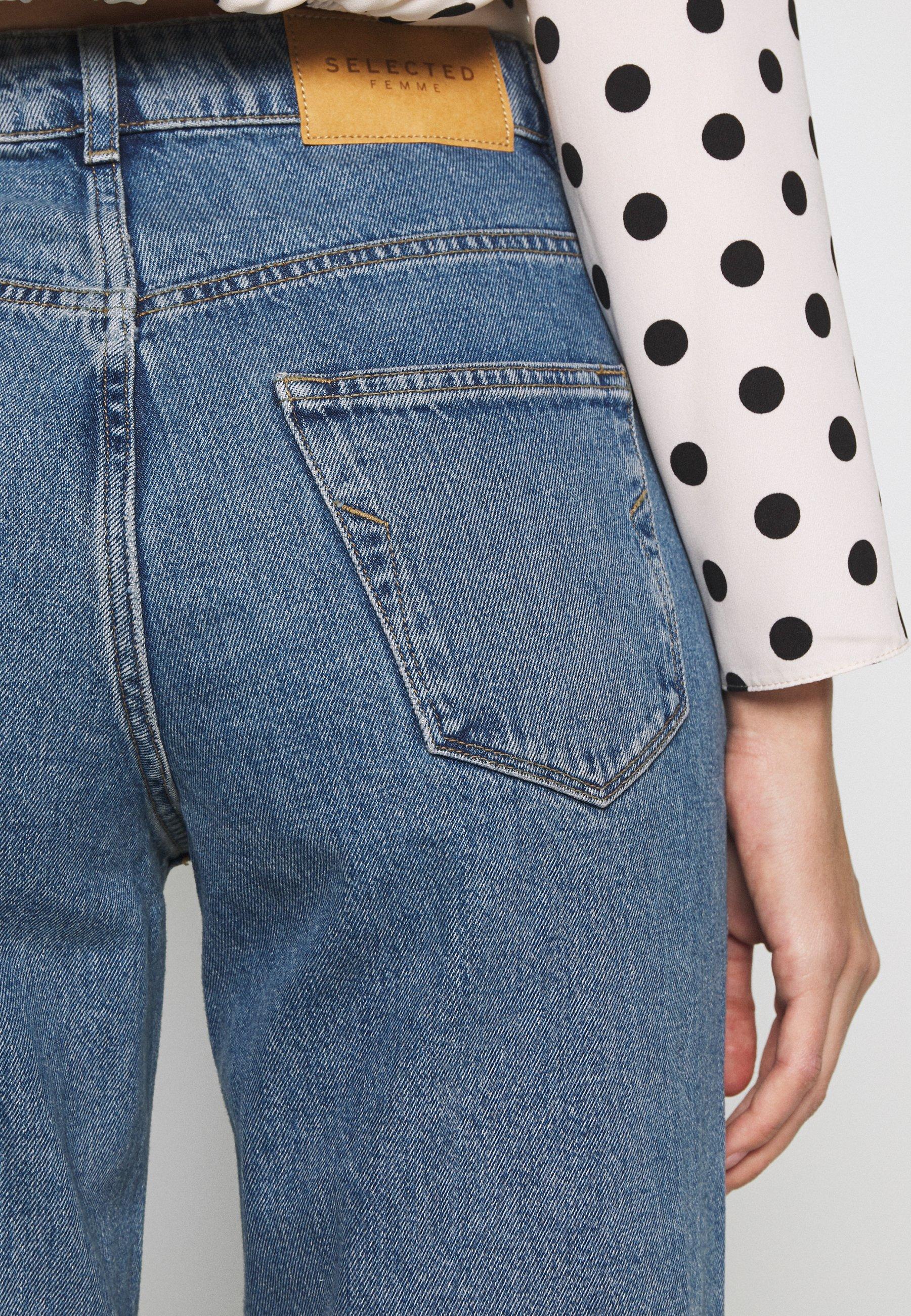 Women SLFKATE RAIL - Straight leg jeans