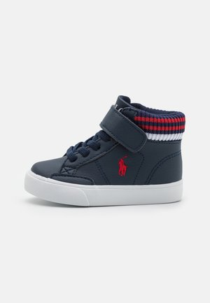 THERON  - Sneaker high - navy/red