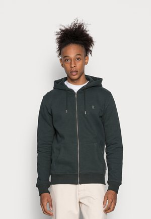 JACKET BIRCH - Sweater met rits - deep green