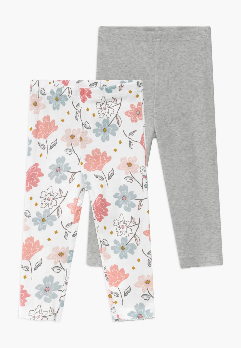 Carter's - GIRL BABY 2 PACK - Leggings - Trousers - multi-coloured/grey