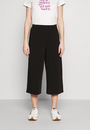 OBJCECILIE NEW CULOTTE PANTS - Pantalon classique - black