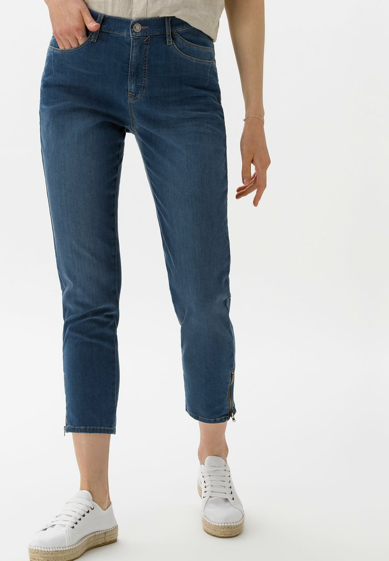 BRAX - STYLE MARY S - Slim fit jeans - used water blue