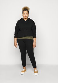 Dorothy Perkins Curve - Tracksuit bottoms - black - 1