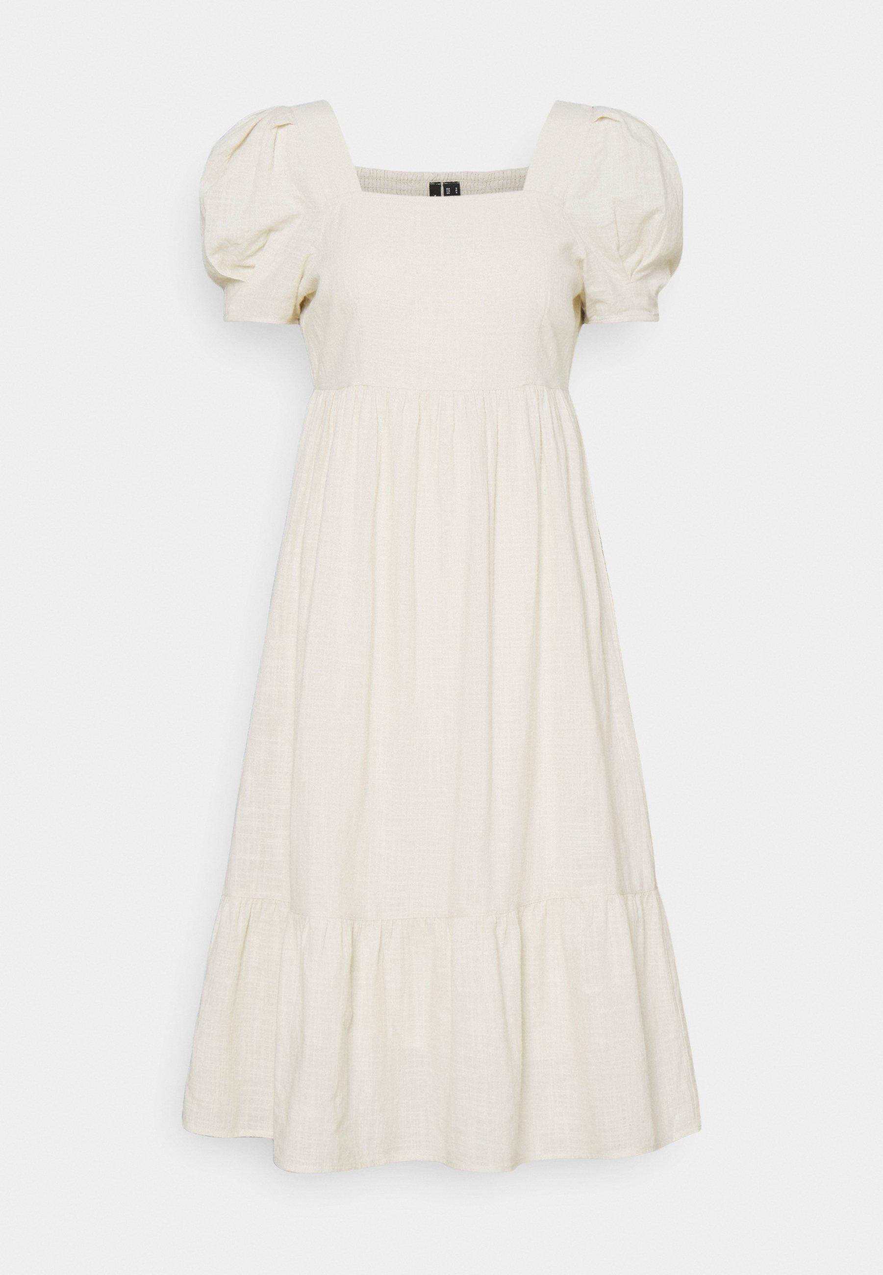 Women VMIDIRIS CALF DRESS - Day dress