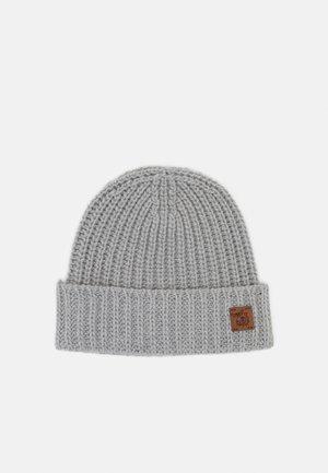 100% Cashmere Beanie UNISEX - Mütze - silber